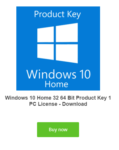Buy Windows 10 Home Activation Key Product Code