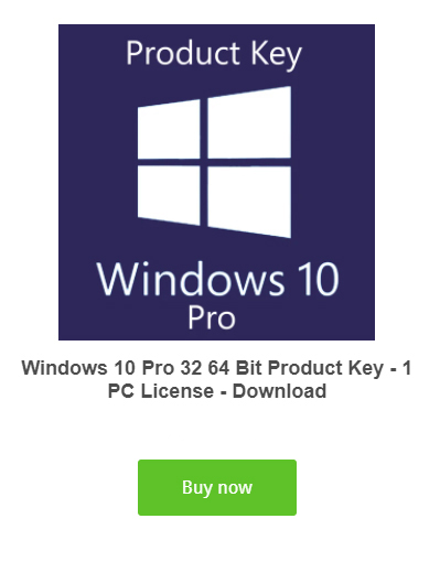 Windows 10 pro activation key product code