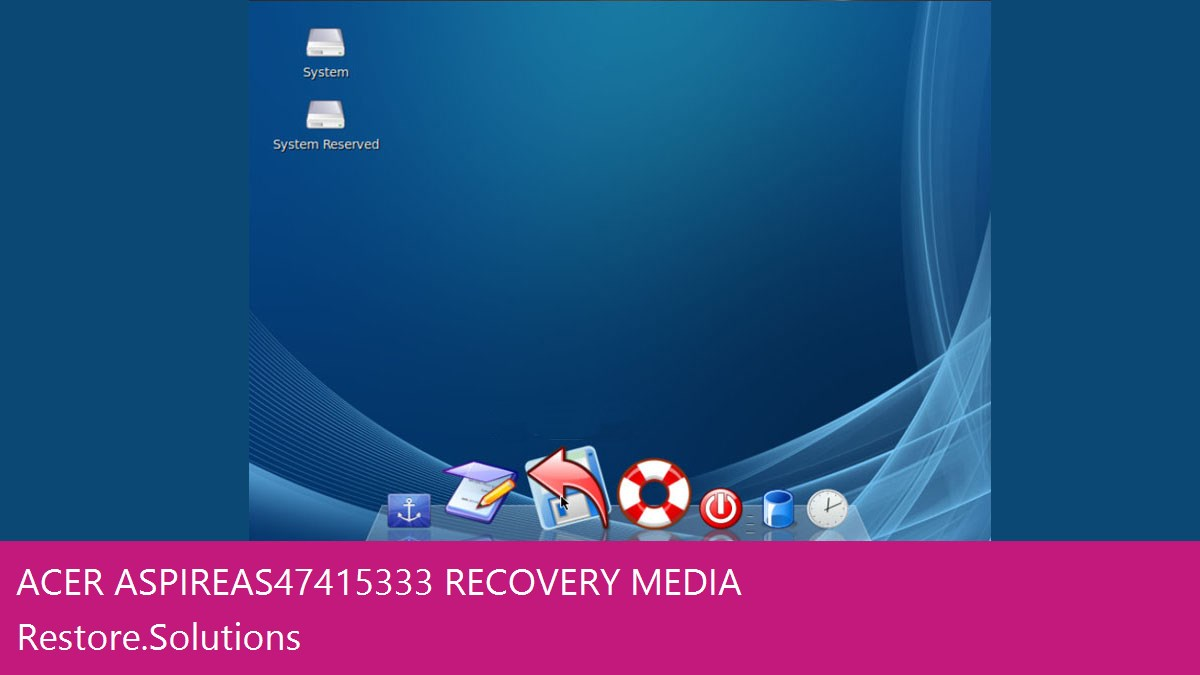 Acer Aspire AS4741-5333 data recovery