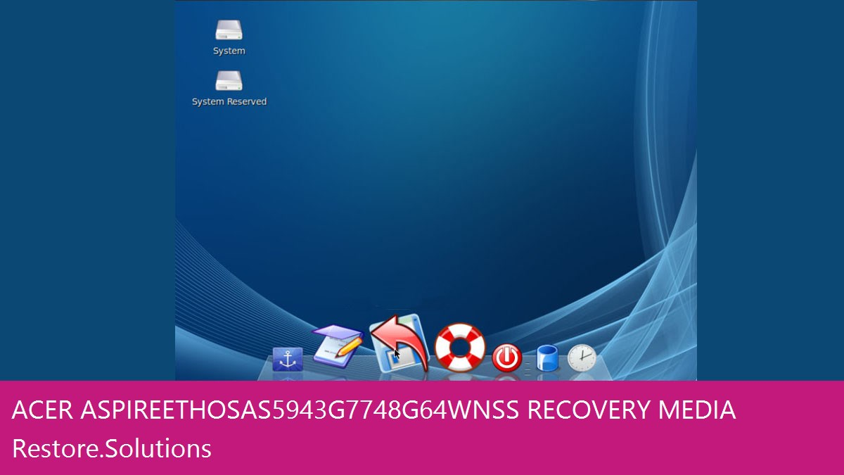 Acer Aspire Ethos AS5943G-7748G64Wnss data recovery