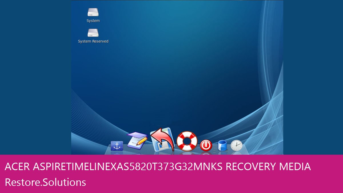 Acer Aspire TimelineX AS5820T-373G32Mnks data recovery