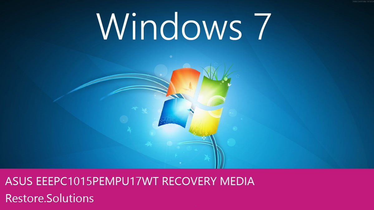 Asus Eee PC 1015PEM-PU17-WT Windows® 7 screen shot
