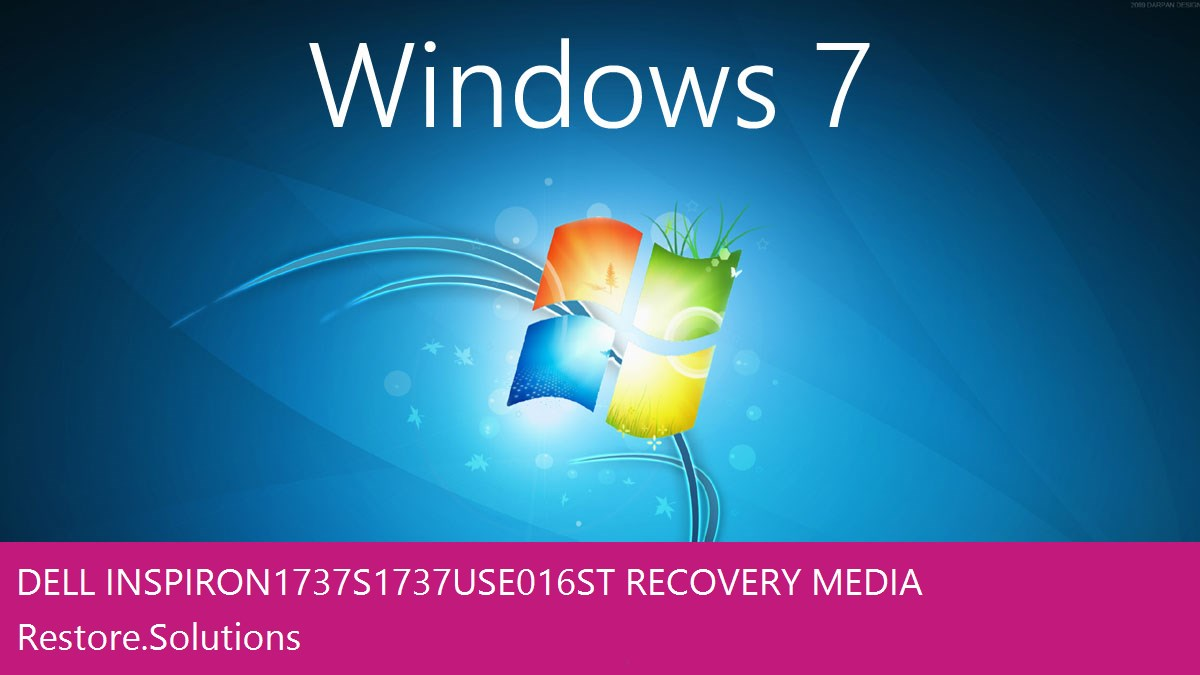 Dell Inspiron 1737 S1737-USE016ST Windows® 7 screen shot