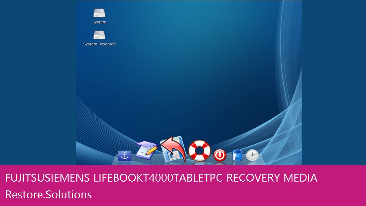 Fujitsu Siemens LifeBook T4000 Tablet PC data recovery