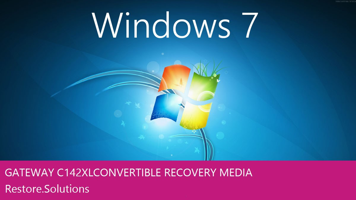 Gateway C-142XL Convertible Windows® 7 screen shot