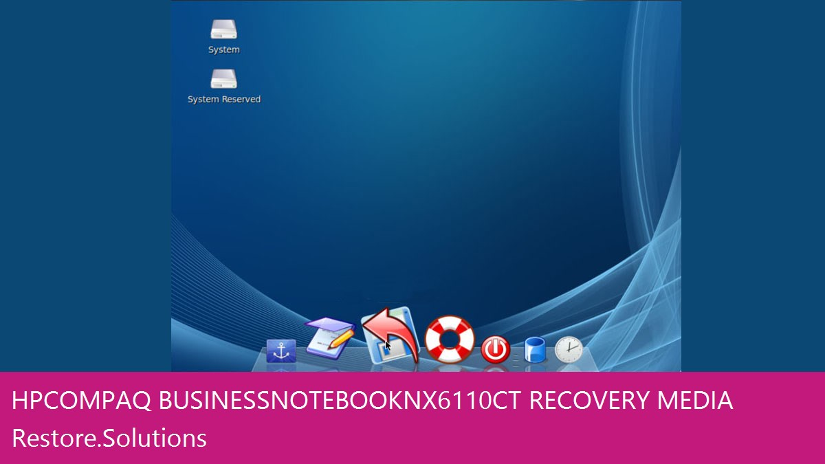 Hp Compaq Business Notebook NX6110CT data recovery