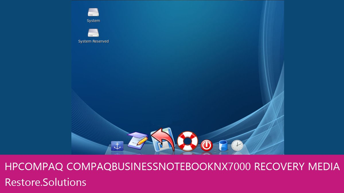 HP Compaq Compaq Business Notebook NX7000 data recovery