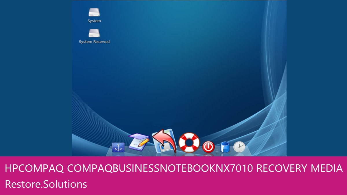 HP Compaq Compaq Business Notebook NX7010 data recovery