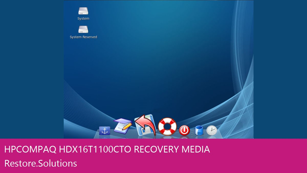 HP Compaq HDX16T-1100CTO data recovery