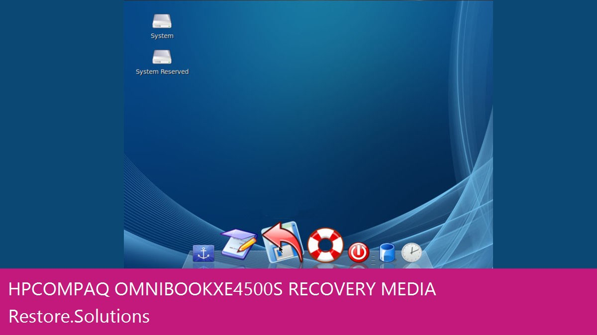 HP Compaq OmniBook XE4500s data recovery