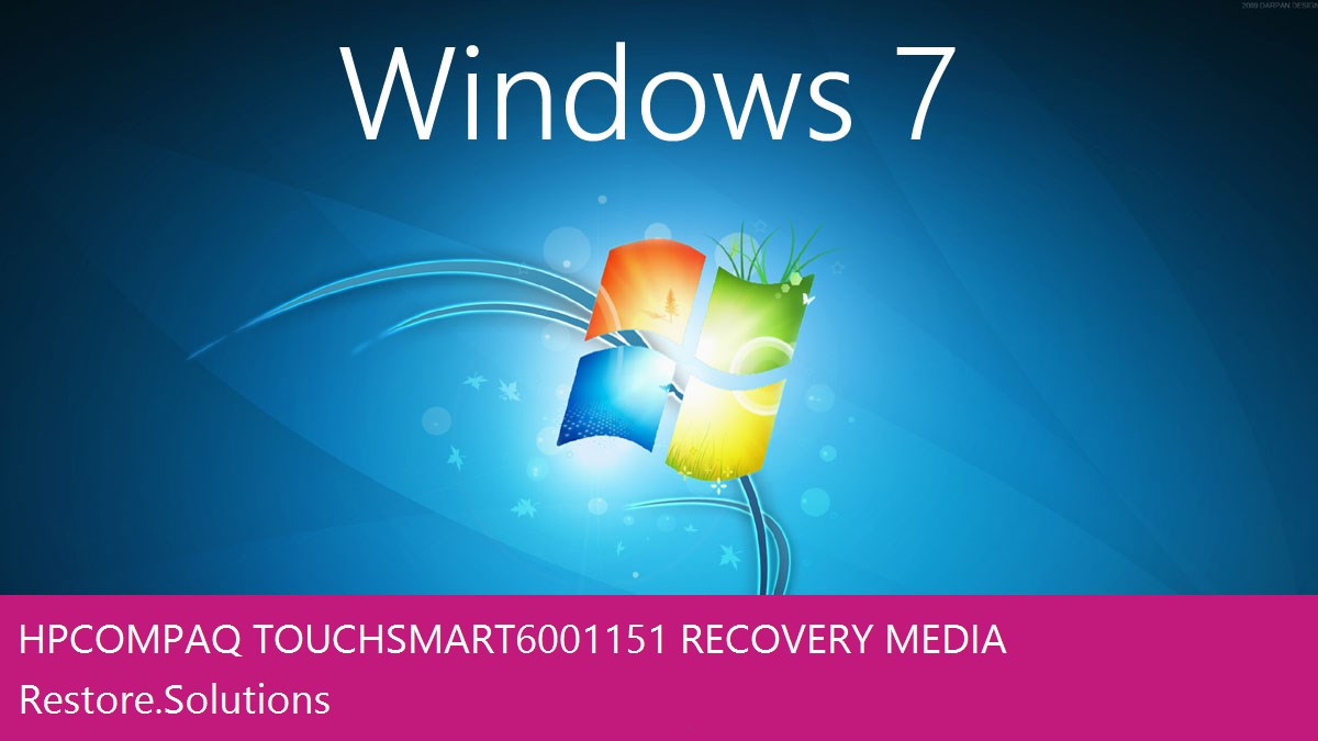 HP Compaq Touchsmart 600-1151 Windows® 7 screen shot