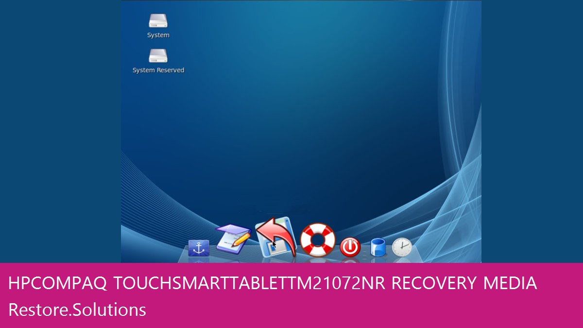 HP Compaq TouchSmart Tablet tm2-1072nr data recovery