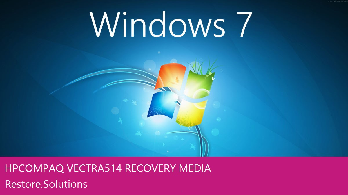 HP Compaq Vectra 514 Windows® 7 screen shot