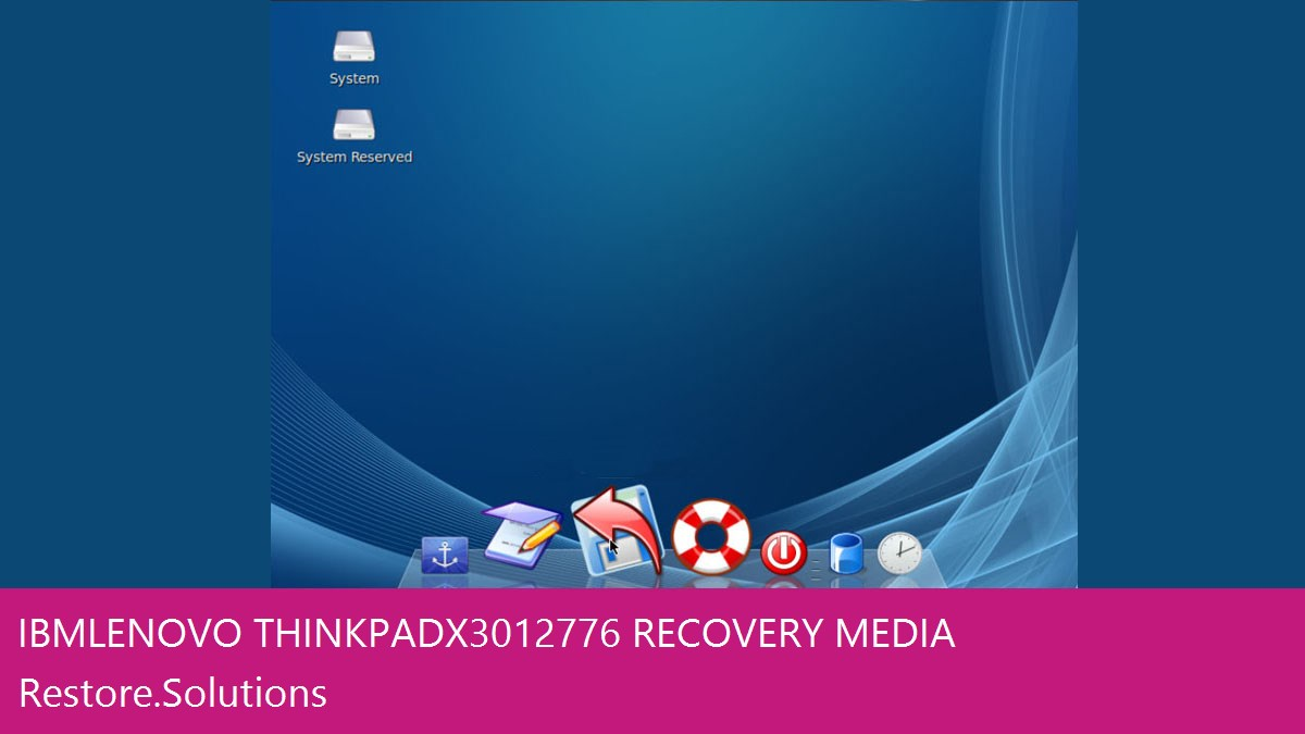 IBM Lenovo Thinkpad X301 2776 data recovery