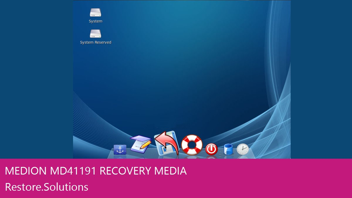 Medion MD41191 data recovery