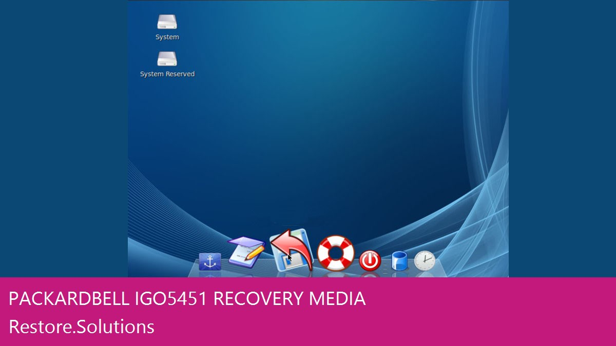 Packard Bell iGo 5451 data recovery