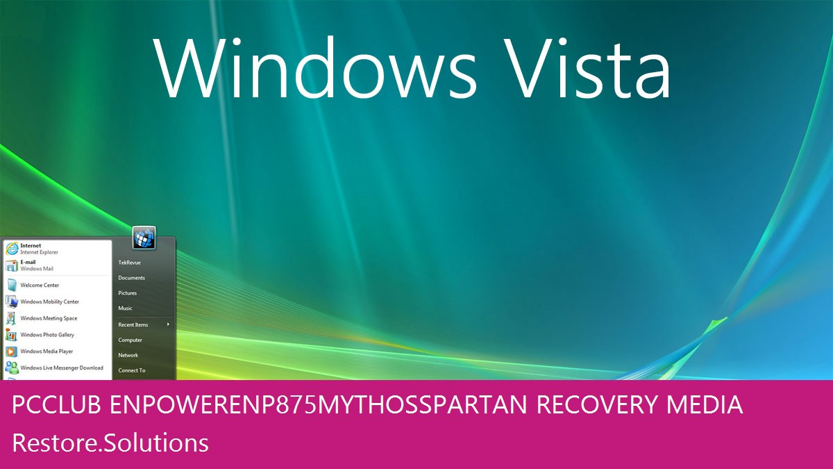 Pc Club EnPower ENP875 Mythos Spartan Windows® Vista screen shot