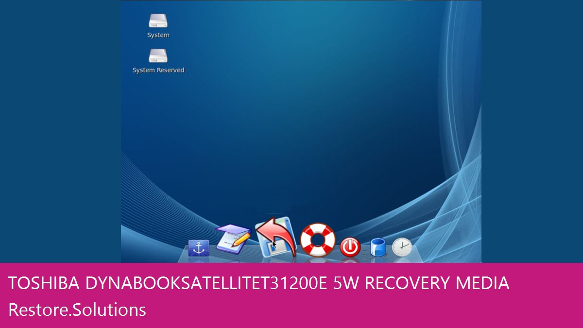 Toshiba Dynabook Satellite T31 200E/5W data recovery