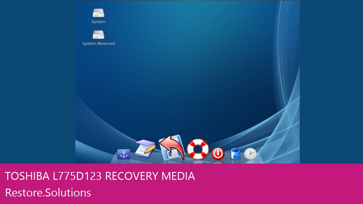 Toshiba L775D-123 data recovery