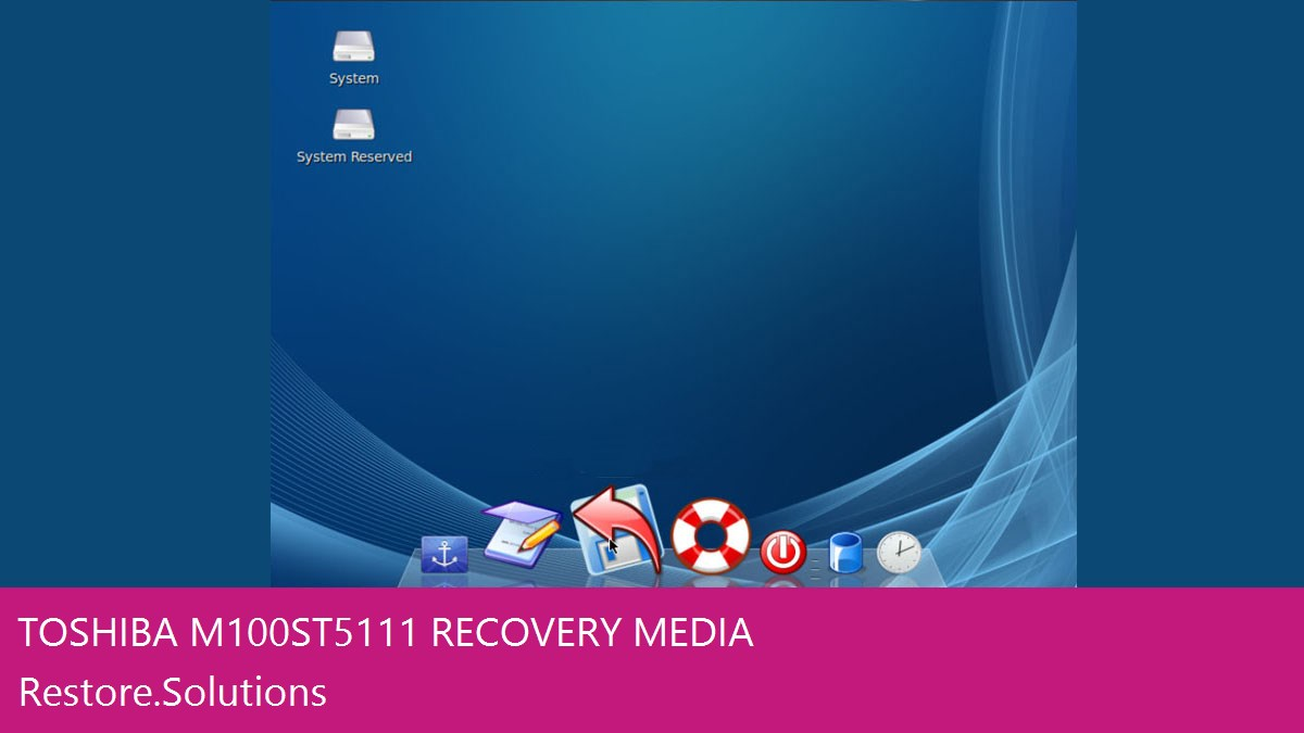 Toshiba M100-ST5111 data recovery