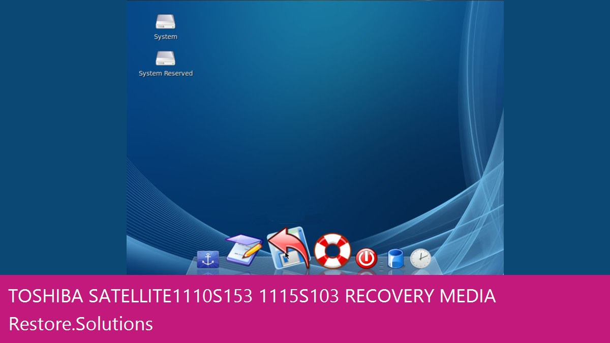 Toshiba Satellite 1110-S153/1115-S103 data recovery