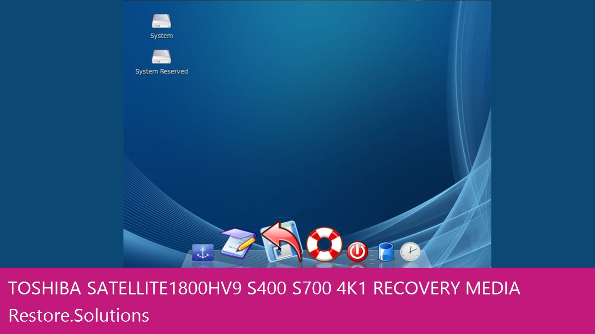 Toshiba Satellite 1800 HV9/S400/S700/4K1 data recovery