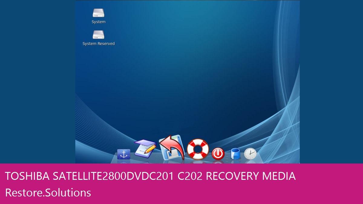 Toshiba Satellite 2800DVD C201/C202 data recovery