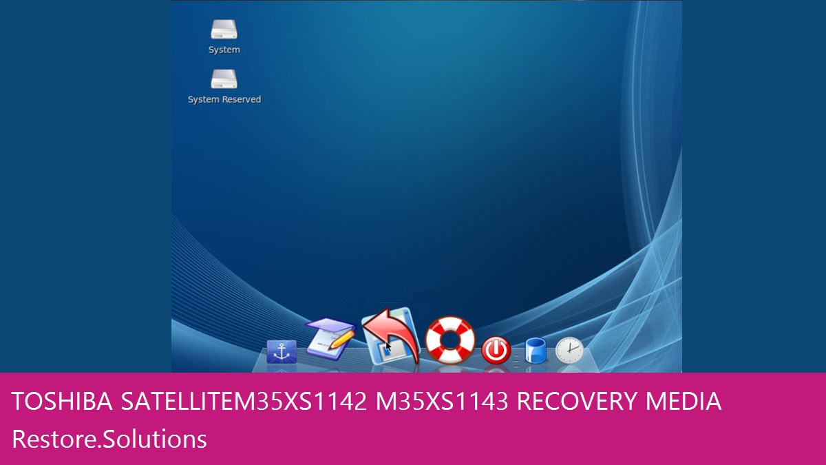 Toshiba Satellite M35X-S1142/M35X-S1143 data recovery