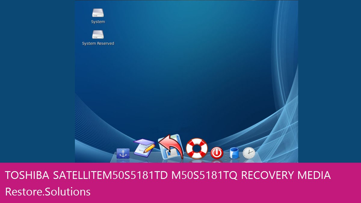 Toshiba Satellite M50-S5181TD / M50-S5181TQ data recovery