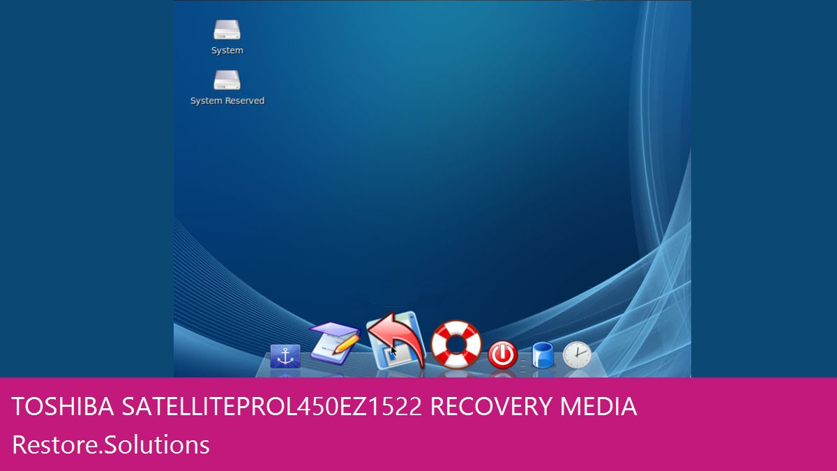Toshiba Satellite Pro L450-EZ1522 data recovery