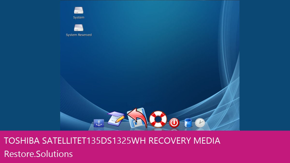 Toshiba Satellite T135D-S1325WH data recovery