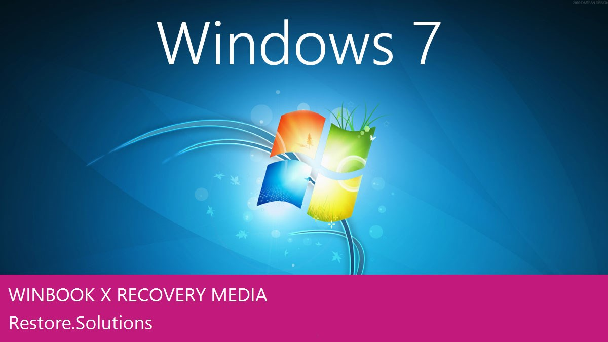 Winbook X Windows® 7 screen shot